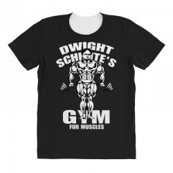 dwight schrute's gym for muscles All Over Women's T-shirt   Artistshot