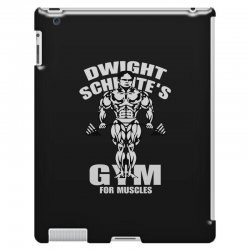 dwight schrute's gym for muscles iPad 3 and 4 Case   Artistshot