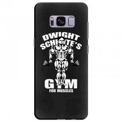 dwight schrute's gym for muscles Samsung Galaxy S8 Plus Case   Artistshot