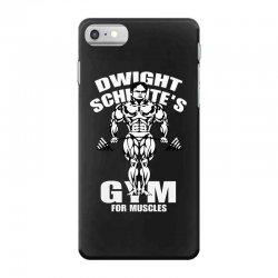 dwight schrute's gym for muscles iPhone 7 Case | Artistshot