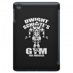 dwight schrute's gym for muscles iPad Mini Case   Artistshot
