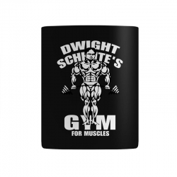 dwight schrute's gym for muscles Mug   Artistshot