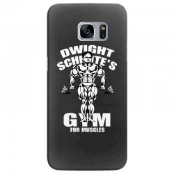dwight schrute's gym for muscles Samsung Galaxy S7 Edge Case   Artistshot