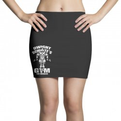 dwight schrute's gym for muscles Mini Skirts   Artistshot