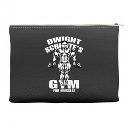 dwight schrute's gym for muscles Accessory Pouches   Artistshot