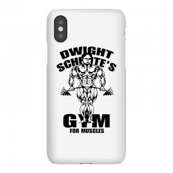 dwight schrute's gym for muscles iPhoneX Case | Artistshot
