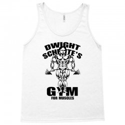 dwight schrute's gym for muscles Tank Top | Artistshot
