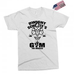 dwight schrute's gym for muscles Exclusive T-shirt | Artistshot