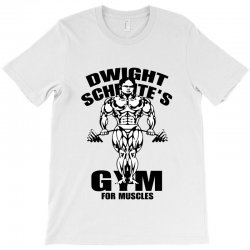 dwight schrute's gym for muscles T-Shirt | Artistshot