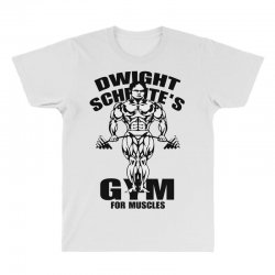 dwight schrute's gym for muscles All Over Men's T-shirt | Artistshot