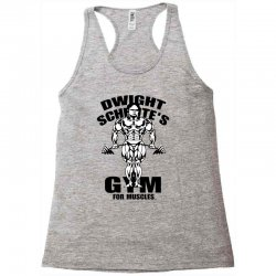 dwight schrute's gym for muscles Racerback Tank | Artistshot