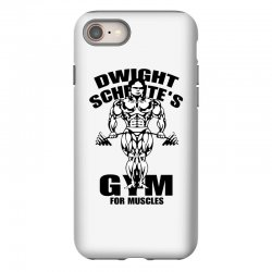 dwight schrute's gym for muscles iPhone 8 Case | Artistshot
