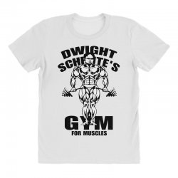 dwight schrute's gym for muscles All Over Women's T-shirt | Artistshot