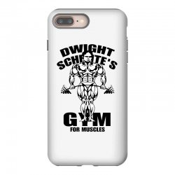 dwight schrute's gym for muscles iPhone 8 Plus Case | Artistshot