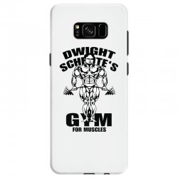 dwight schrute's gym for muscles Samsung Galaxy S8 Case | Artistshot