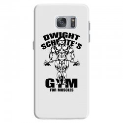 dwight schrute's gym for muscles Samsung Galaxy S7 Case | Artistshot