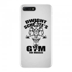 dwight schrute's gym for muscles iPhone 7 Plus Case | Artistshot