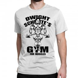dwight schrute's gym for muscles Classic T-shirt | Artistshot