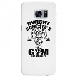 dwight schrute's gym for muscles Samsung Galaxy S7 Edge Case | Artistshot