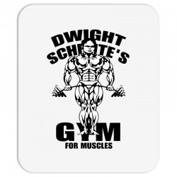 dwight schrute's gym for muscles Mousepad | Artistshot