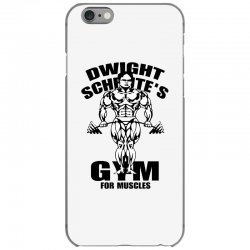 dwight schrute's gym for muscles iPhone 6/6s Case | Artistshot