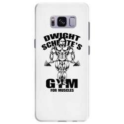 dwight schrute's gym for muscles Samsung Galaxy S8 Plus Case | Artistshot