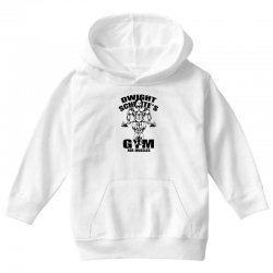 dwight schrute's gym for muscles Youth Hoodie | Artistshot