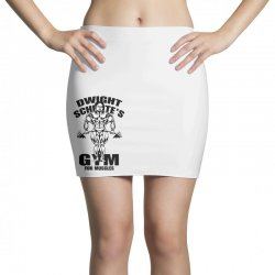 dwight schrute's gym for muscles Mini Skirts | Artistshot