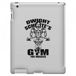 dwight schrute's gym for muscles iPad 3 and 4 Case | Artistshot