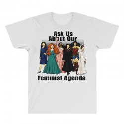 ask us about our feminist agenda All Over Men's T-shirt | Artistshot
