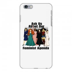 ask us about our feminist agenda iPhone 6 Plus/6s Plus Case | Artistshot