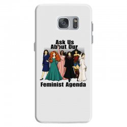 ask us about our feminist agenda Samsung Galaxy S7 Case | Artistshot
