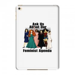 ask us about our feminist agenda iPad Mini 4 Case | Artistshot