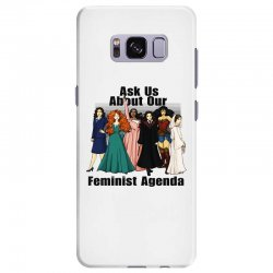 ask us about our feminist agenda Samsung Galaxy S8 Plus Case | Artistshot