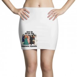 ask us about our feminist agenda Mini Skirts | Artistshot
