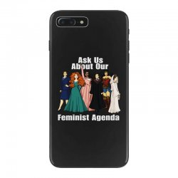 feminist agenda iPhone 7 Plus Case | Artistshot