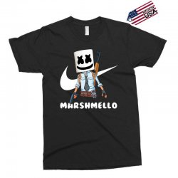 fornite marshmello and the gun Exclusive T-shirt | Artistshot