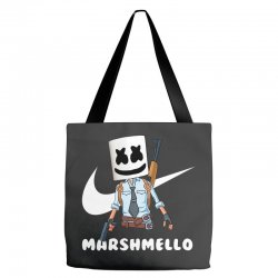 fornite marshmello and the gun Tote Bags | Artistshot