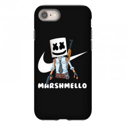 fornite marshmello and the gun iPhone 8 Case | Artistshot