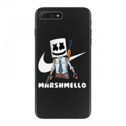fornite marshmello and the gun iPhone 7 Plus Case | Artistshot