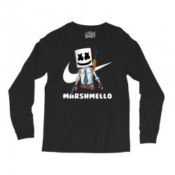fornite marshmello and the gun Long Sleeve Shirts | Artistshot