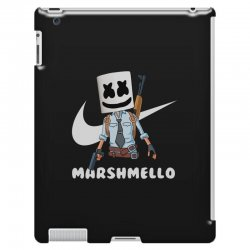 fornite marshmello and the gun iPad 3 and 4 Case | Artistshot