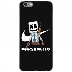 fornite marshmello and the gun iPhone 6/6s Case | Artistshot