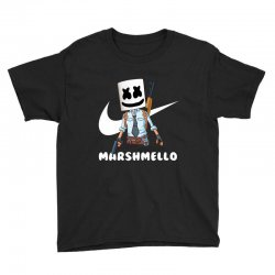 fornite marshmello and the gun Youth Tee | Artistshot