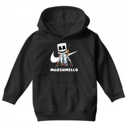 fornite marshmello and the gun Youth Hoodie | Artistshot