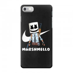fornite marshmello and the gun iPhone 7 Case | Artistshot