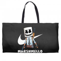 fornite marshmello and the gun Weekender Totes | Artistshot