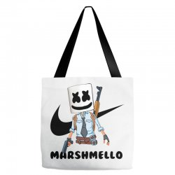 funny fornite marshmello and the gun Tote Bags | Artistshot