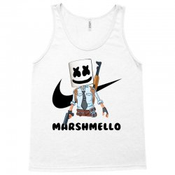funny fornite marshmello and the gun Tank Top | Artistshot
