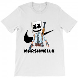 funny fornite marshmello and the gun T-Shirt | Artistshot